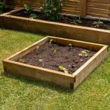 Forest Caledonian Small Raised Bed 3' x 3' (0.9m x 0.9m)