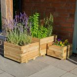 Forest Thirlmere Planter Set of 3