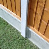 Forest Lightweight Concrete Fence Post 2.36m