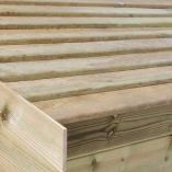 10x6 Ultimate Slatted Roof