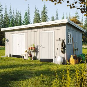 18' x 11' Palmako Kalle (88mm) Premium Multi-room Shed (5.6m x 3.3m)