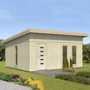 Palmako Annika 4.5m x 5.5m Contemporary Garden Office