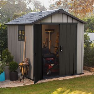 7' x 9' Keter Oakland Plastic Garden Shed (2.79 x 2.87m)