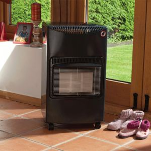Lifestyle Seasons Warmth Grey Summerhouse Portable Gas Heater