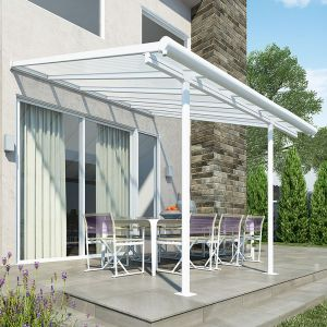 10'x10' (3x3m) Palram Sierra White Patio Cover