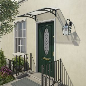 Palram Calisto 1350 Twinwall Grey Door Canopy