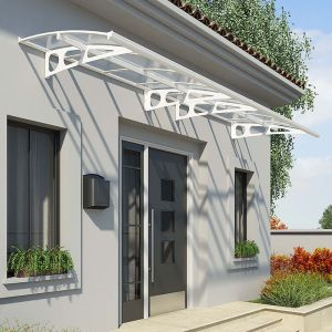 Palram Bordeaux 4460 White Door Canopy