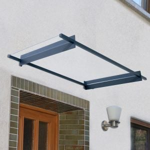 Palram Nancy 1500 Grey Door Canopy