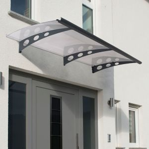 Palram Garamond 2050 Grey Door Canopy
