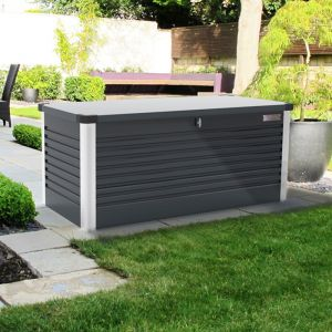 Large 6x2 Trimetals Anthracite Patio Protect a Box