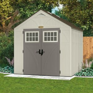 Suncast 8x7 New Tremont '4' Apex Roof Shed