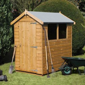 10 x 6 (3.05x1.83m) Traditional Standard Apex Wooden Garden Shed