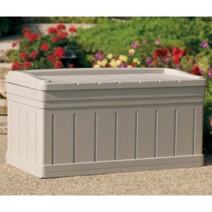 Suncast Resin Deck Box With Seat