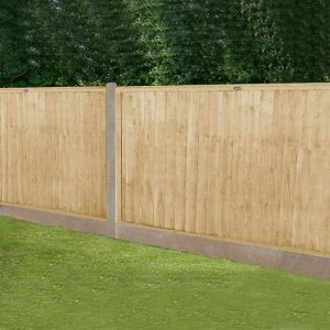 Forest 6' x 4' Pressure Treated Closeboard Fence Panel (1.83m x 1.22m)