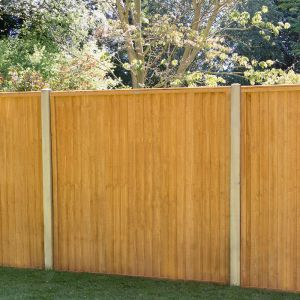 Forest Closeboard Fence Panel 1.5m High