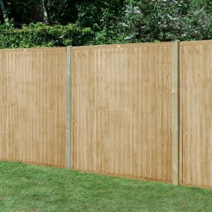 Forest 6' x 5' Pressure Treated Closeboard Fence Panel (1.83m x 1.52m)