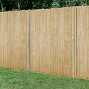 Forest 6' x 6' Pressure Treated Closeboard Fence Panel (1.83m x 1.83m)