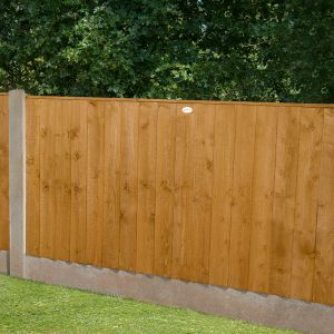 3ft High Featheredge Fence Panel