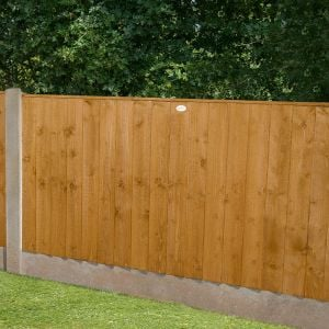 4ft High Forest Featheredge Fence Panel