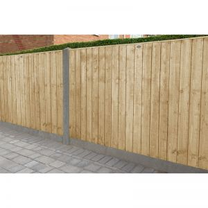 Forest 6' x 4' Pressure Treated Featheredge Fence Panel (1.83m x 1.23m)
