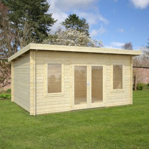 15x11 (4.7x3.7m) Palmako Jodie 44mm Log Cabin