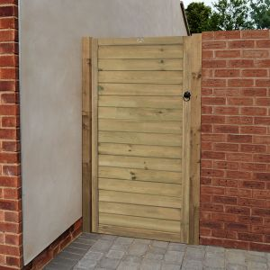 6'x3' (1.8x0.9m) Forest Pressure Treated Horizontal Tongue & Groove Gate