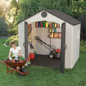 8' x 5' Lifetime Special Edition Heavy Duty Plastic Shed (2.4m x 1.5m)