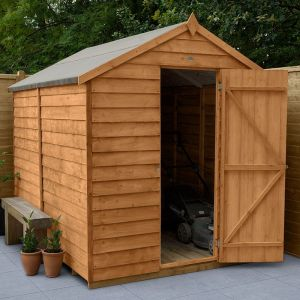 8' x 6' Forest Apex Wooden Shed