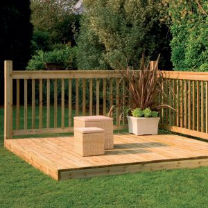 2.4m Easy Deck Kit (With Handrails)