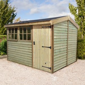 8x6 Shed Republic Ultimate Barnstyle Shed - Standard Door