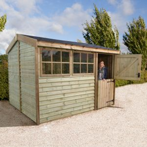 12x8 Shed Republic Ultimate Barnstyle Workshop - Stable Door