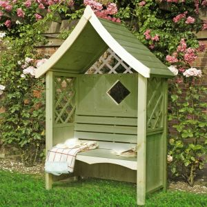 Shire Rose Garden Arbour Seat 5'x3'