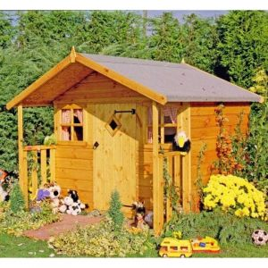 6x5 Shire Cubby Playhouse