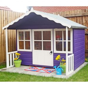 6x5 Shire Pixie Wooden Playhouse