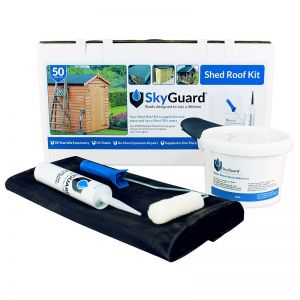 6'x3' SkyGuard EPDM Garden Building & Shed Roof Kit - Replacement Covering
