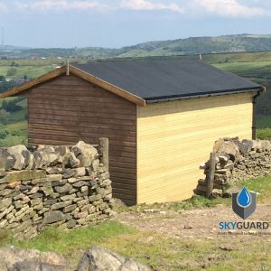 11'x20' SkyGuard EPDM Garden Building & Shed Roof Kit - Replacement Covering