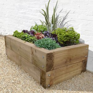 Forest Sleeper Raised Bed 4'x2' (1.3x0.7m)