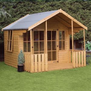 10' x 10' (3.05x3.05m) Traditional Woodstock Summerhouse