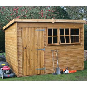 10' x 6' Traditional Heavy Duty Pent Shed (3.05m x 1.83m)