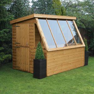 10' x 6' Traditional Potting Shed 6' Gable (3.05m x 1.83m)
