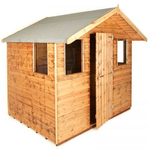 10x8 Traditional 8' Cabin Shed
