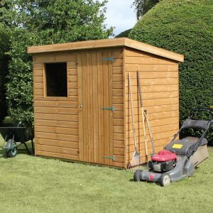 10' x 8' Traditional Standard Pent Shed (3.05m x 2.44m)