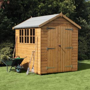 12' x 8' Traditional Heavy Duty Apex Shed (3.66m x 2.44m)