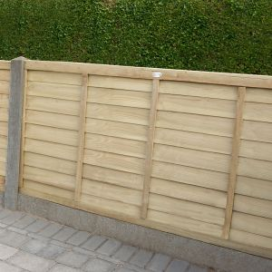 Forest Pressure Treated Super Panel 1.2m High