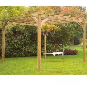 Forest Pergola Kit 10x10ft