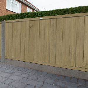 4ft (1.22m) High Forest Vertical Tongue and Groove Fence Panel
