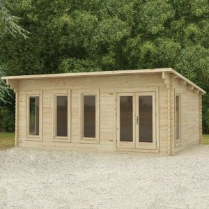 Forest Wolverley 6m x 4m Log Cabin (45mm)