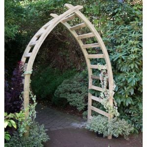 Forest Whitby Wooden Garden Arch