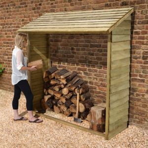 Forest Wall Log Store