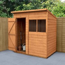6' x 4' Forest Pent Wooden Shed
